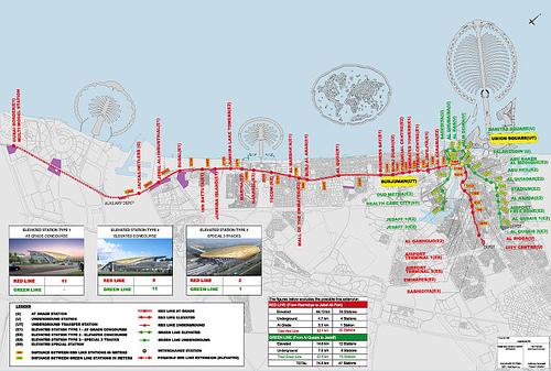 كل ما يجب أن تعرفه عن المواصلات في دبي
