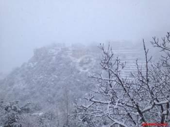 لبنان في الثلج