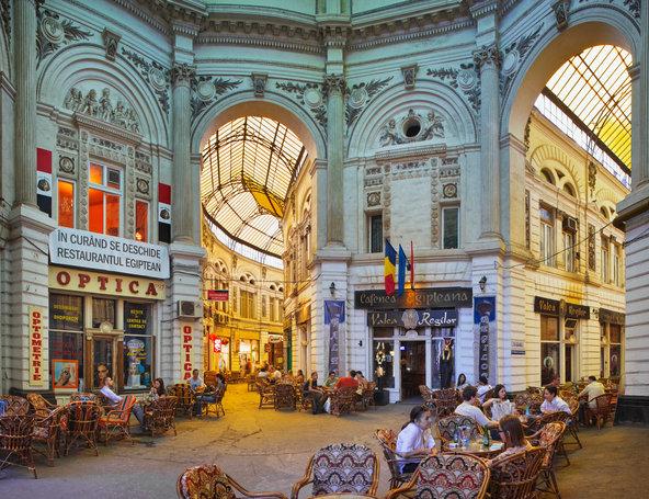 بوخارست من المطار إلى المبيت