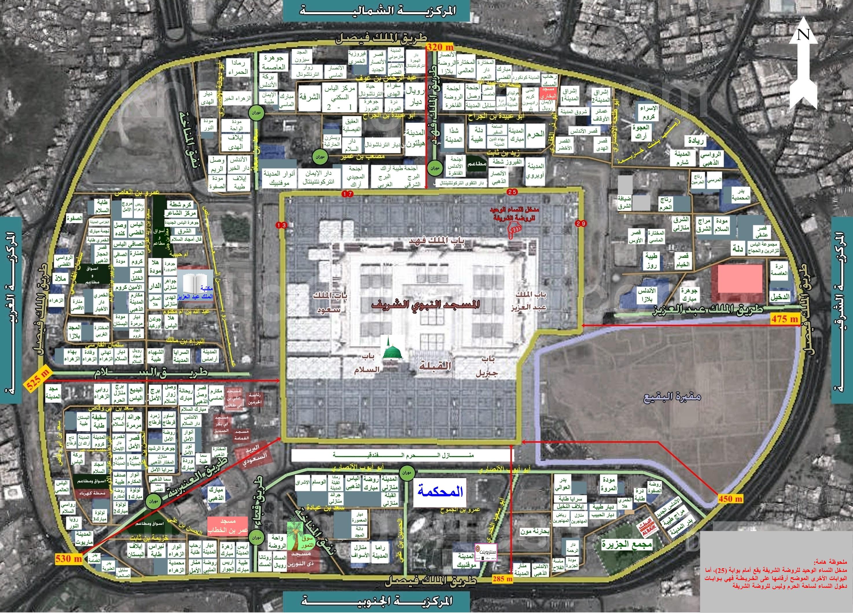 بعض الفنادق القريبة من الحرم النبوي الشريف بالمدينة المنورة 61270alsh3er