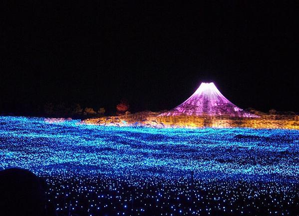 جمالية الأضواء السحرية باليابان