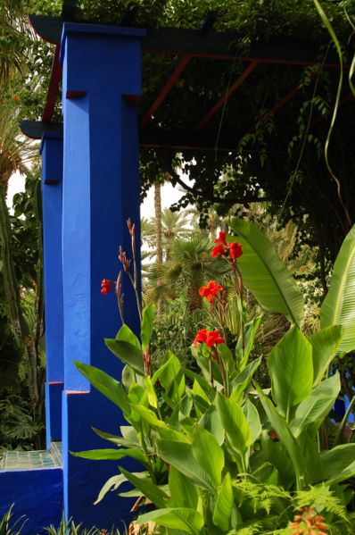 ماجوريل.. تحفة خضراء تزين المدينة الحمراء     ماجوريل.. تحفة خضراء تزين المدينة