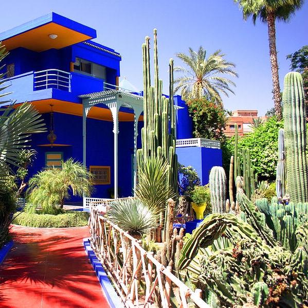 for Jardin yves saint laurent maroc