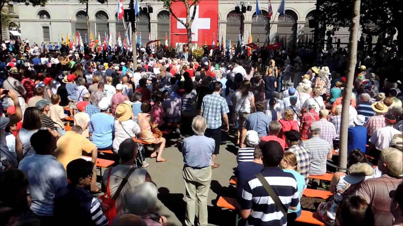 العيد الوطني لسويسرا