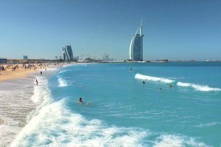 كيف تسكن على الشاطئ في دبي ب100 درهم فقط!!