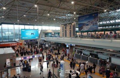 الخروج من مطار روما