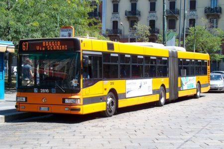 المواصلات في ميلانو