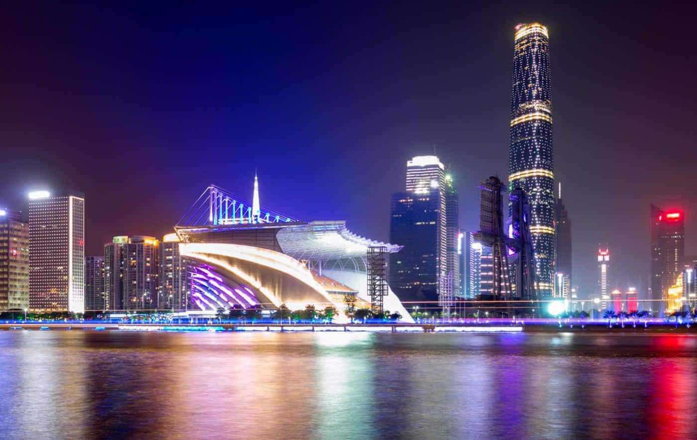 الذهاب من كوانزو الى هونج كونج(دولة الصين العظيمة)