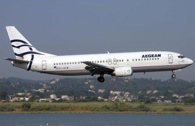 اية رايكم فى طيران ايجين(الناقل الخاص الأول في اليونان)