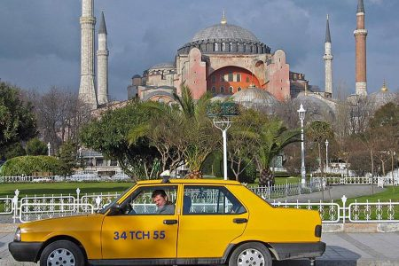 كم اجرة التاكسي من اتاتورك الي السلطان احمد