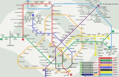 مترو سنغافورة (مترو سنغافورة الأذكى بالعالم)
