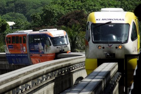 مترو المونوريل في كوالالمبور – تعرفي إلى المترو الأفضل في كل ماليزيا