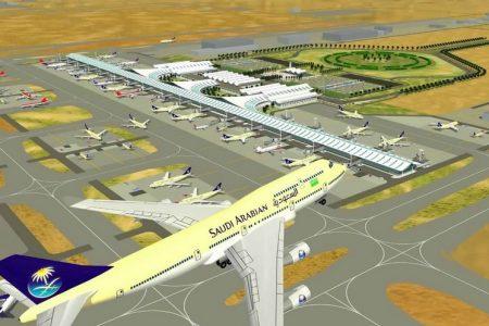 الفرق بين البوابة الشمالية والجنوبية مطار الملك عبد العزيز