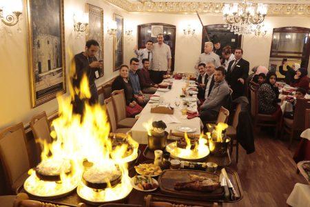 موقع مطعم الملك و مطعم المدينة في اسطنبول