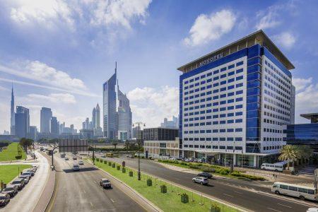 موقع مركز دبي التجاري العالمي(عامودالتجارة في دبي)