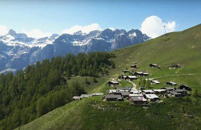 قرية meiringen