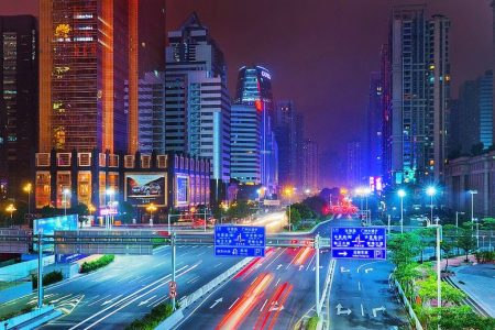 كم المسافة من جوانزوا إلى شيان