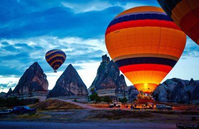 حجز تذكرة لرحلة منطاد الهواء في كابادوكيا اونلاين