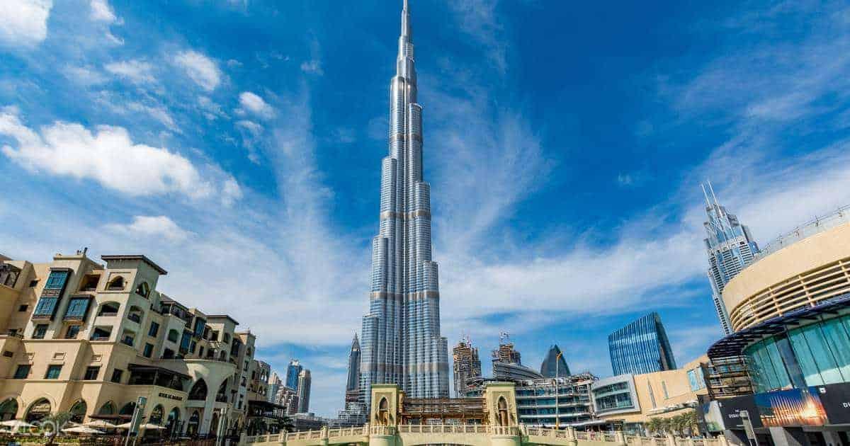 شرح حجز تذكرة صعود برج خليفة دبي اونلاين عطلات