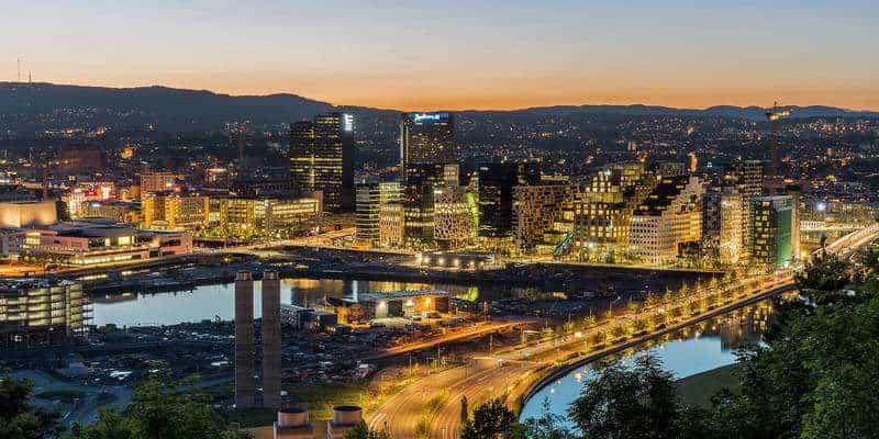 العاصمة أوسلو Oslo
