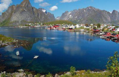 احداثيات اهم الأماكن السياحية في النرويج