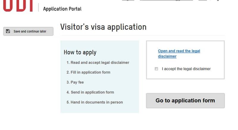 الذهاب للتأشيرة