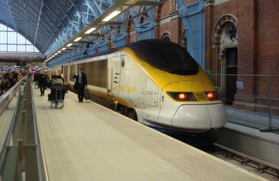 تجربة السفر عن طريق قطار يوروستار من باريس الى لندن