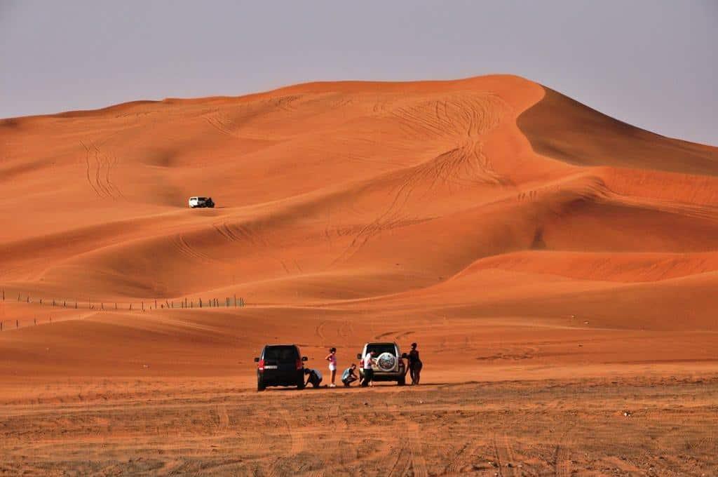 حجز تذكرة لصحراء دبي الحمراء ، طريقة الحجز بالصور