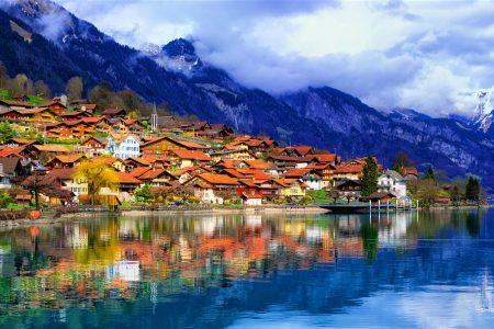 عروسه سويسرا المسافرون العرب(السياحة بسويسرا)