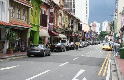 تقرير عن شارع العرب في سنغافورة