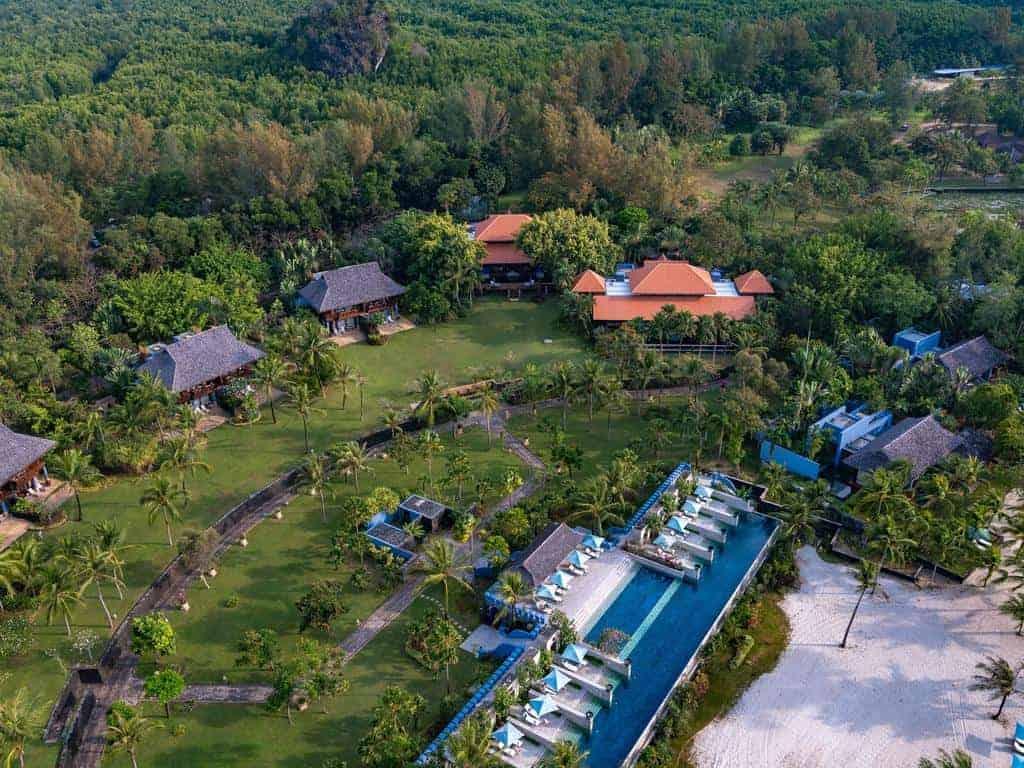 فندق فور سيزون لنكاوي ماليزيا