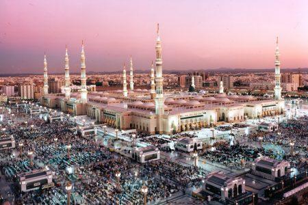 معلومات عن المسجد النبوي وصورة مخطط المسجد بالعربي