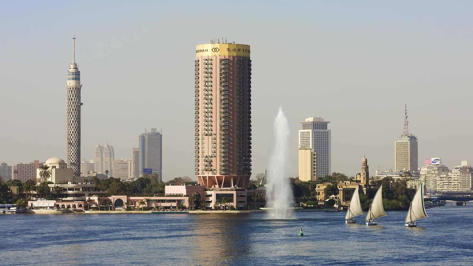 فندق سوفيتيل النيل القاهرة الجزيرة