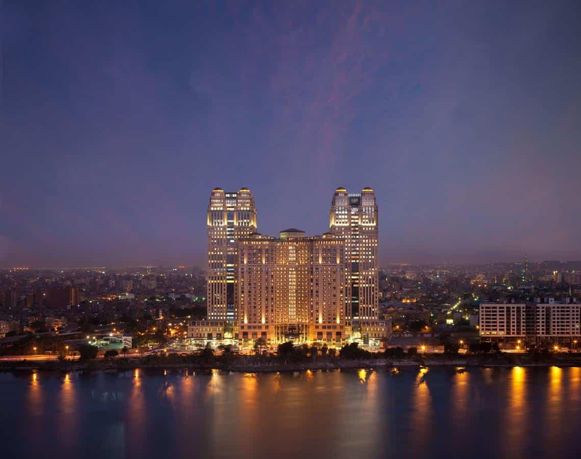 فندق فيرمونت نايل سيتي القاهرة