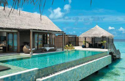 منتجعات مطاعم فنادق مسبح خاص بجزر المالديف