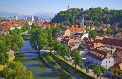 احداثيات الأماكن السياحية في عاصمة سلوفينيا ليوبليانا