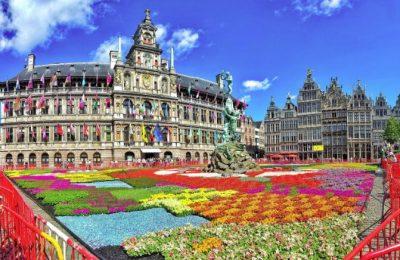 تقرير عن أنتويرب درة بلجيكا مدينة الماس والأزياء
