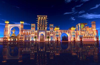 معلومات بالصور عن القرية العالمية في دبي