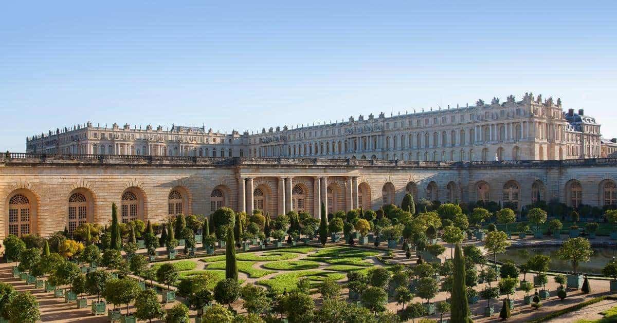 قصر فرساي من الخارج