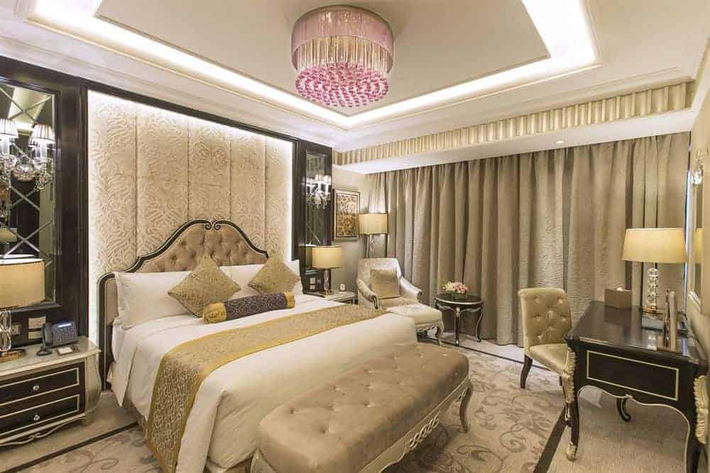 غرفة نوم فندق نارسيس