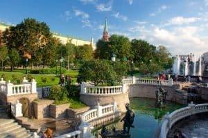 العودة إلى العاصمة موسكو - روسيا - موسكو