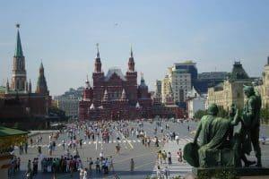 زيارة أهم المعالم الأثرية - روسيا - موسكو