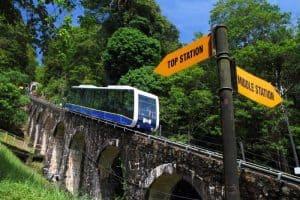 زيارة أهم الأماكن السياحية – ماليزيا – جزيرة بينانج