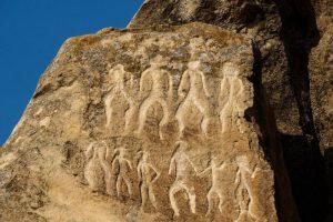 زيارة آثار مدينة نفتالان – أذربيجان – نفتالان