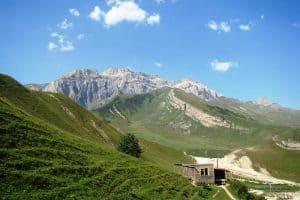 زيارة بلدة شاه داغ - أذربيجان - قوبا