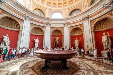 تذكرة الدخول السريع لمتحف الفاتيكان والكنيسة السيستين.