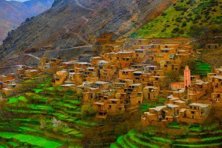 جولة رحلة لقرى امازيغية و3 وديان من جبال اطلس