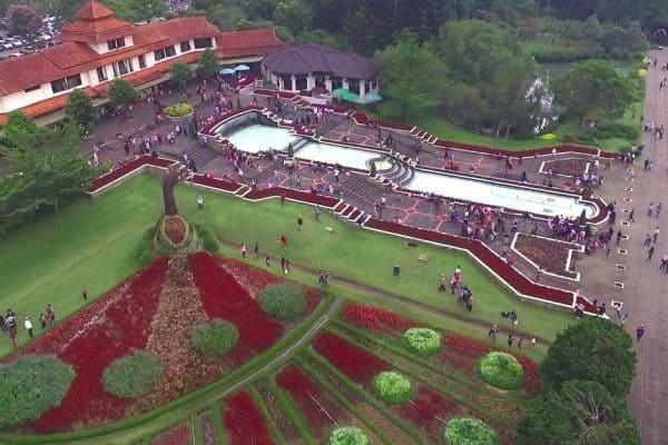 حديقة الزهور Taman Bunga Nusantara
