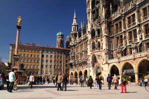 الذهاب إلى ميونيخ – ألمانيا – ميونيخ