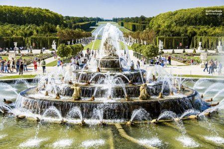 شرح حجز تذكرة دخول قصر فرساي وحدائقه المذهلة اونلاين